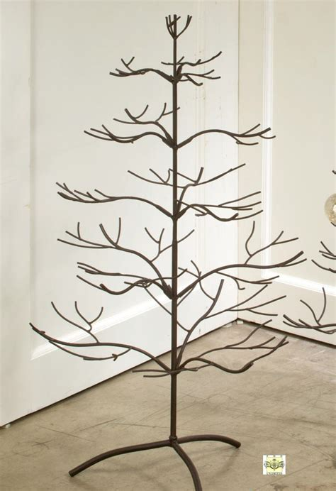 wine rack ornament trees brown natural 36 quot ornament display trees