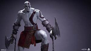 God of War Kratos Statue by EFX | Sideshow Collectibles