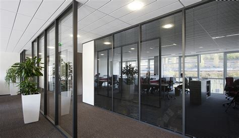 cloisons bureaux cloison aluminium