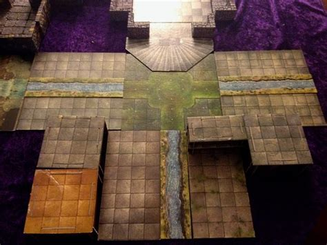 dungeons and dragons tiles sets re creating xak tsaroth from dragonlance in dungeon tiles