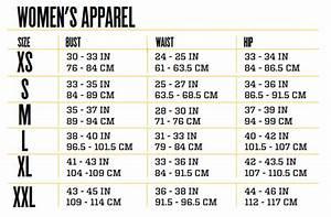 Size Guide  U2013 Upgrade
