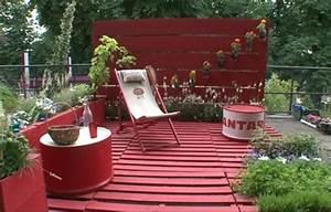 Deco Terrasse Pas Cher : une terrasse en mat riau de r cup ration exclusivement ~ Teatrodelosmanantiales.com Idées de Décoration