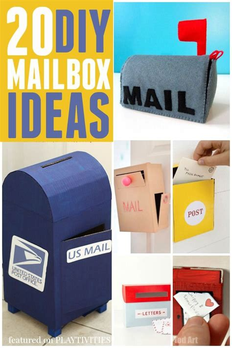 20 cutest mailbox ideas playtivities 462   0813db48a86f30e38b476e52db78bef6