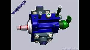 Pump Common Rail Bosch Cp1 Animation