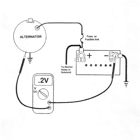 Chevy 3 Wire Alternator Voltameter Diagram by Voltage Drop Compression Stroke