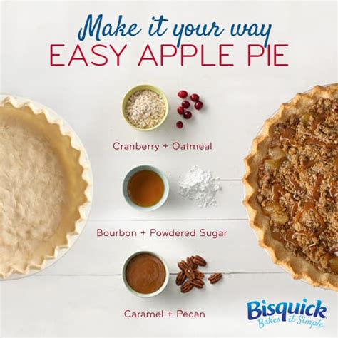 And it doesn't require special canning equipment or even a slow cooker. Make It Your Way Easy Apple Pie - BettyCrocker.com