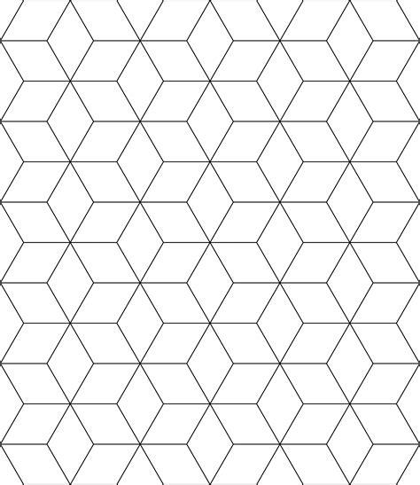 block tessellation clipart
