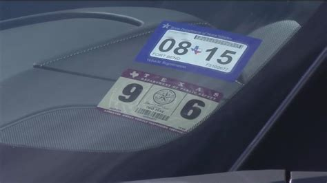 New Texas Car Registration, Sticker System Now In Effect