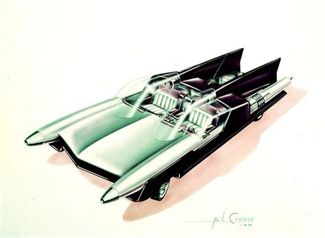 futuristic cars drawings 385 best images about vintage concept car illustration on