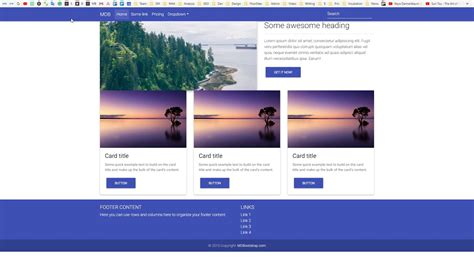 bootstrap  tutorial  advanced grid colors spacing