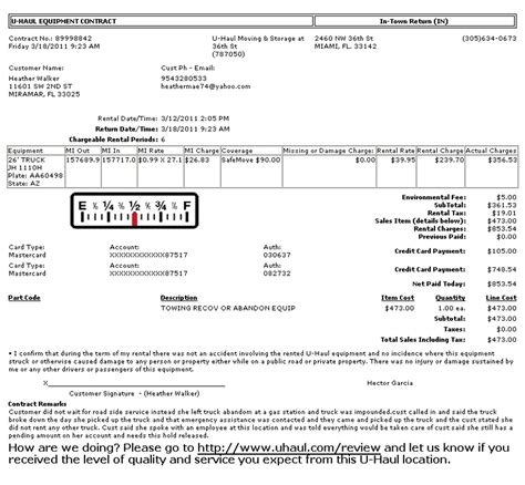 ripoff report u haul moving and storage complaint review