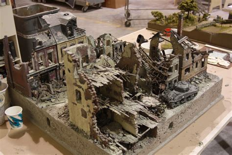National Infantry Museum - Crumbled City - Martin Roznowski