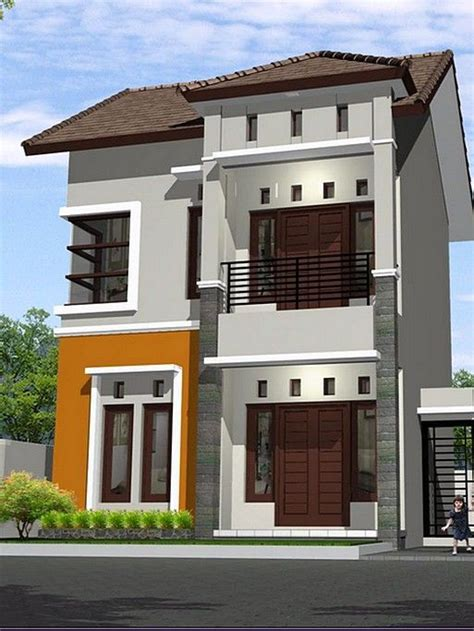 model rumah minimalis lantai sederhana desain rumah minimalist
