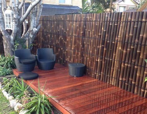 impressive bamboo fence panels   turn  yard