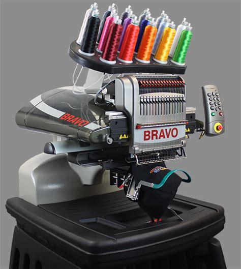 melco amaya bravo single head  needle embroidery machine