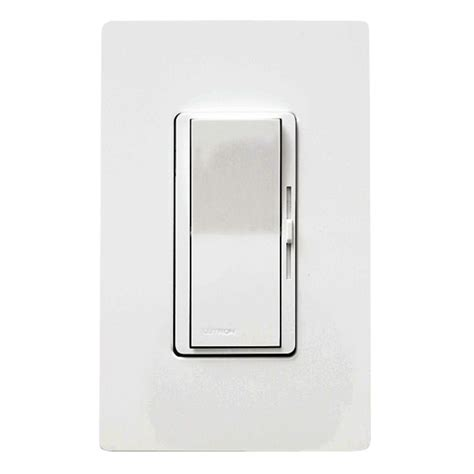 light dimmer switch 1000 watt incandescent dimmer switch dv10ph wh