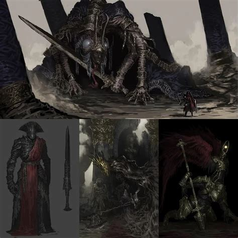 If someone told me this is Elden Ring's concept art, i ...