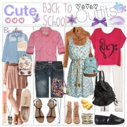 Cute Back to School Outfits Polyvore