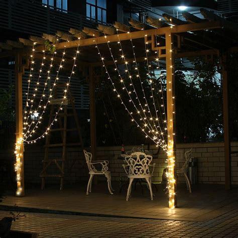 curtain outdoor christmas lights 3mx3m 300 led outdoor holiday lighting christmas