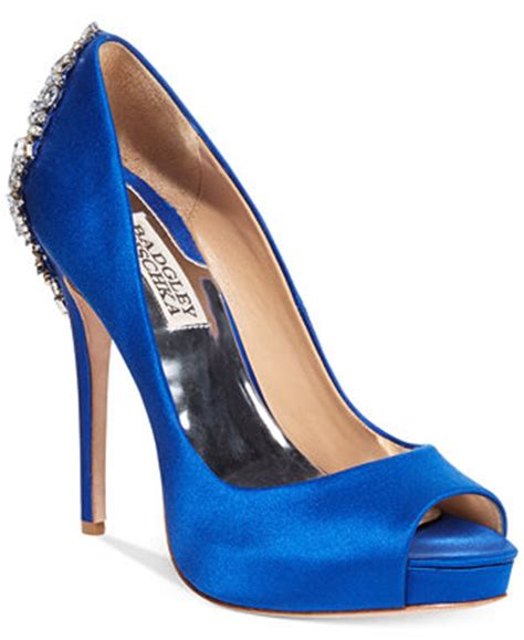 badgley mischka kiara platform evening pumps pumps shoes macys