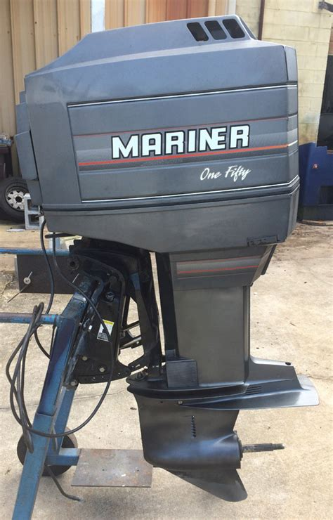 Outboard Bass Boat Motors by 150 Hp Mercury Mariner Outboard Boat Motor For Sale