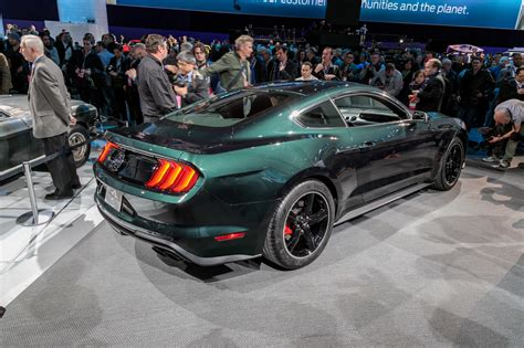 2019 Ford Mustang Bullitt First Look