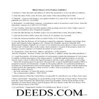 cook county lis pendens release form illinois deeds com