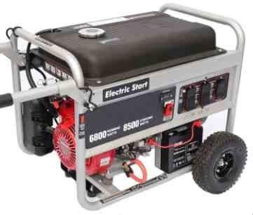 Three Models of Honda Tri Fuel Generator