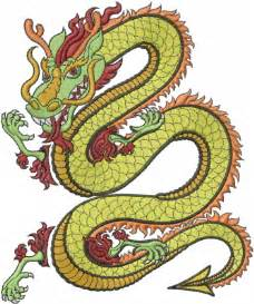 Free Dragon Machine Embroidery Designs