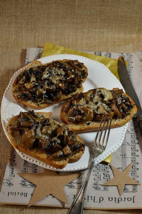 cuisiner truffe croute aux chignons et crème de truffe recette le