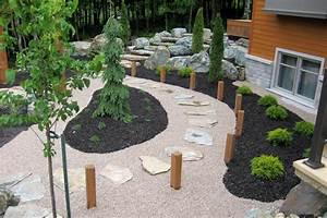 amenagement pierre et pave les jardins de vos reves With pierre pour allee de jardin 8 mur de pierre muret de pierre exterieur profil jardins