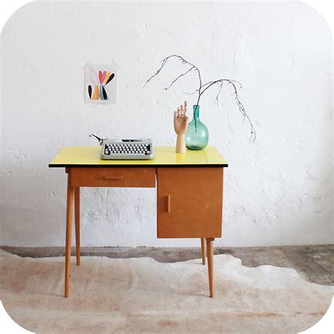 catgorie bureau page 1 du mobilier vintage bureau ées 50 formica jaune