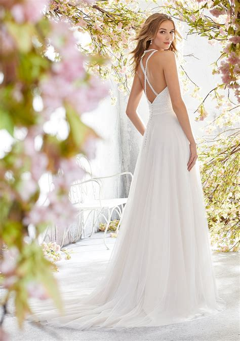 mori lee  luna wedding dress catrinas bridal