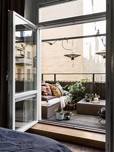 Balkon Lounge Klein : loungen op een klein balkon inrichting ~ A.2002-acura-tl-radio.info Haus und Dekorationen