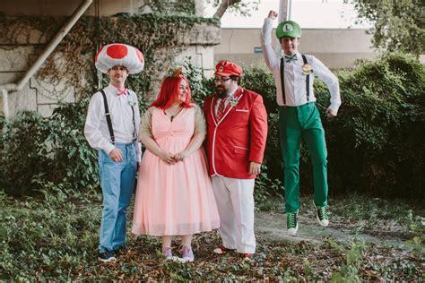 Super Mario Wedding Popsugar Tech