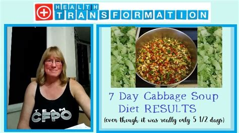 day cabbage soup diet results