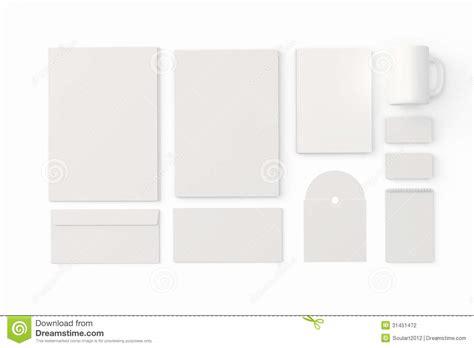 corporate identity templates stock illustration image