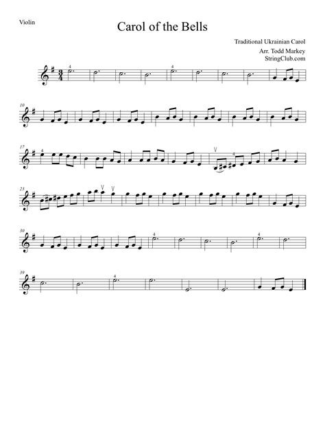 } free carol of the bells piano sheet music is provided for you. Carol Of Bells Piano Sheet Music Free - Best Music Sheet