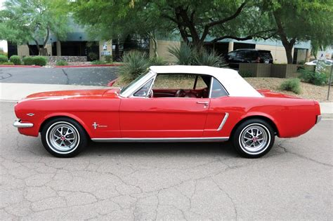 1965 FORD MUSTANG CONVERTIBLE - 185867