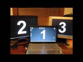 multi monitor display hookupmp youtube