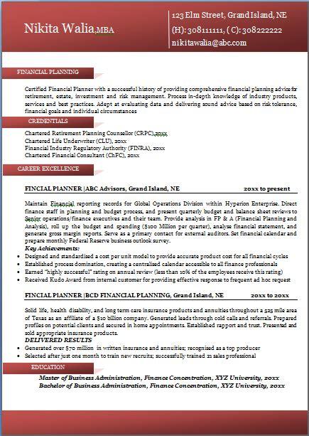 excellent professional resume sampleformat