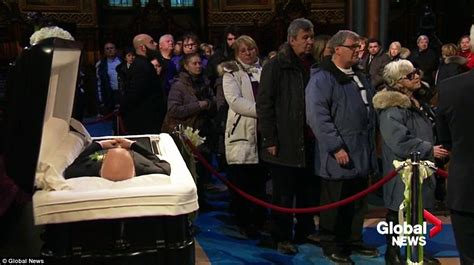 Celine Dion Leads Second Day Of Mourning At René Angélil's