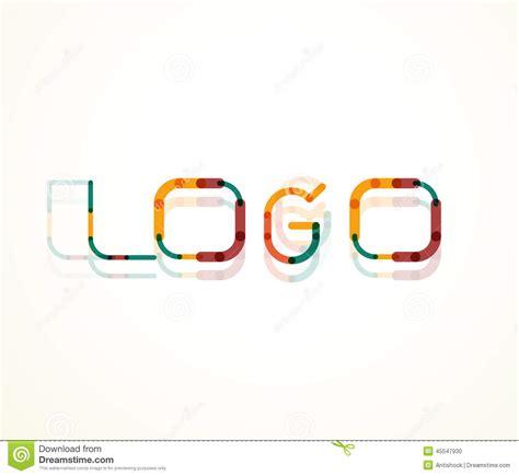 logo word font design stock vector image of blue definition 45547930