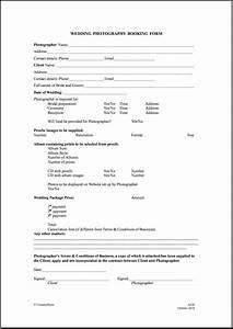 free printable wedding photography contract template form With wedding photography contract meal clause