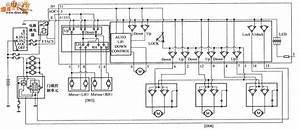Beijing Hyundai Sonata Motor-driven Door And Window Switch Circuit Diagram