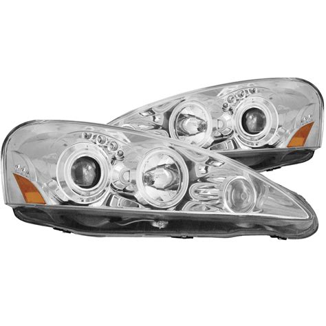 anzo usa acura rsx 05 06 projector headlights chrome w