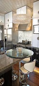 26 Beautiful Glam Kitchen Design Ideas To Try - DigsDigs