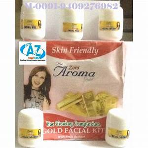 Gold Aroma Facial Kit-Zoro- For Glowing Complexion, Buy 1 ...