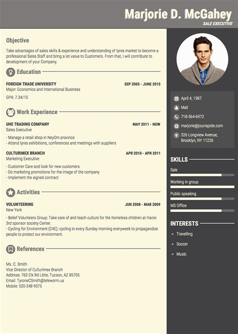 Pro Resume Template by Professional Resume Templates World Of Reference