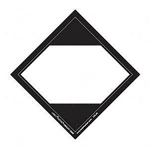 labelmaster limited quantity label polypropylene blank